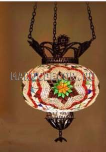 Светильник мозаичный в восточном стиле арт.HMF-017