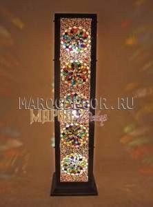 Торшер в восточном стиле с мозаикой  арт.FM-25RC