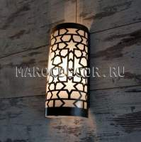 Восточный настенный светильник для хамама влагозащищенный