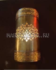 Восточный светильник для хамама арт.252, восточное освещение