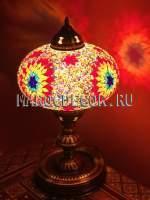 Восточная мозаичная лампа арт. KM-23/g
