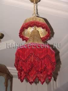Марокканская люстра арт.PACHA-RED-3