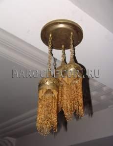 Марокканская люстра арт. PACHA-BEIGE-1
