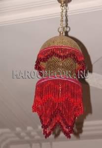 Марокканская люстра арт.PACHA-RED-2