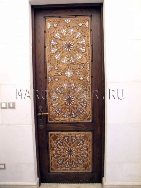железные двери в восточном стиле