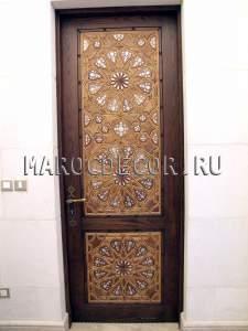 Марокканская резная дверь арт.MD-14