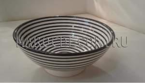 Марокканская керамическая салатница арт.L-04
