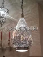 Восточный подвесной светильник арт.HED-50/1, ручная работа