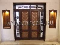 Марокканская резная дверь арт.MAR-15