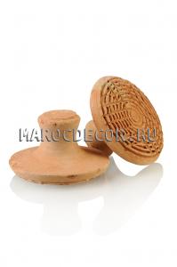 Пилинговый камень для ног из натуральной  глины , Марокко,ручная работа