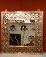 Восточное зеркало с чеканкой арт.SR-82/1