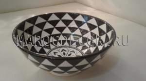 Марокканская керамическая салатница арт.L-01