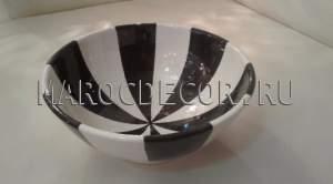 Марокканская керамическая салатница арт.L-03