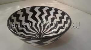 Марокканская керамическая салатница арт.L-07