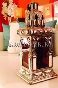Марокканская настольная лампа-фонарь арт.Lamp-80