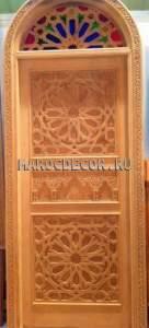 Восточная резная дверь арт.MD-23
