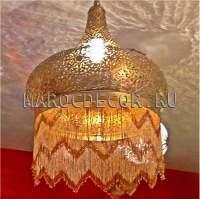 Марокканская люстра ручной работы арт.PACHA-BEIGE-2