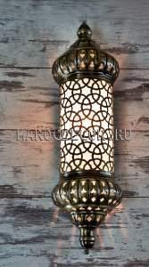 Восточный настенный светильник для хамама арт.FY-112-3C
