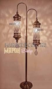 Лампа -торшер в восточном стиле арт.FO-ANAT2-55