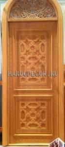 Восточная резная дверь арт.MD-24