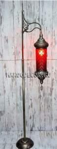 Напольная лампа торшер в восточном стиле арт.LY-113R/15