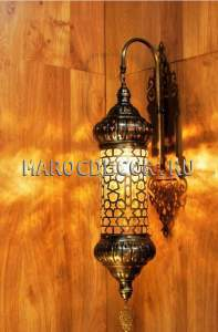 Настенный светильник бра в восточном стиле арт.WY-112-2-8