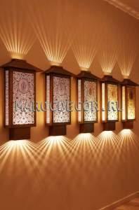 Марокканский настенный светильник арт.ТМ-30, дизайнерский