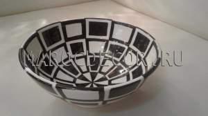 Марокканская керамическая салатница арт.L-02
