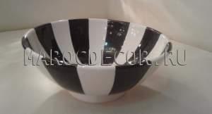 Марокканская керамическая салатница арт.L-05