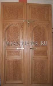 Резная дверь в марокканском стиле арт.MD-26