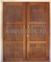Резная марокканская дверь арт.MD-33