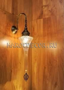 Настенный светильник бра в восточном стиле арт.WY-309