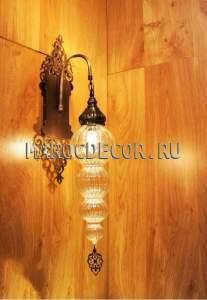 Настенный светильник бра в восточном стиле арт.WY-311L