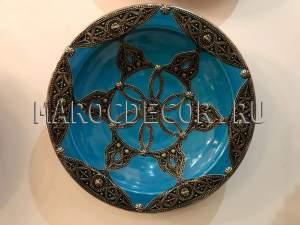 Марокканская тарелка арт.AS-54