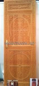 Резная дверь в марокканском стиле арт.MD-25