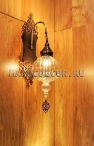Настенный светильник бра в восточном стиле арт.WY-308L