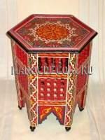 Кофейный столик в традиционном  марокканском стиле арт.TB-224
