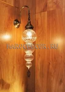 Настенный светильник бра в восточном стиле арт.WY-311