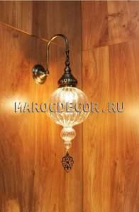 Настенный светильник бра в восточном стиле арт.WY-308