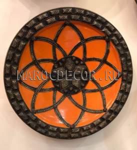 Марокканская тарелка арт.AS-52