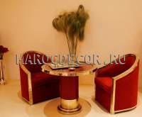 Дизайнерское кресло в марокканском стиле арт.ТМ-112