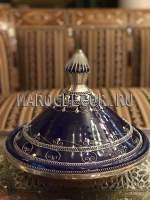 Марокканский декоративный тажин арт. TJ-25