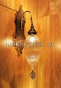Настенный светильник бра в восточном стиле арт.WY-306L