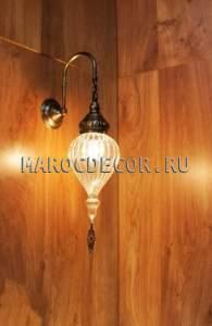Настенный светильник бра в восточном стиле арт.WY-310