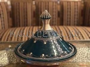 Марокканский декоративный тажин арт. TJ-24