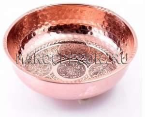 Медная чаша для омовения арт.CR-01