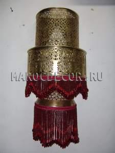 Марокканский светильник настенный арт.176
