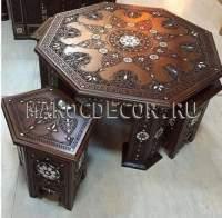 Набор из 2 восточных столиков арт.TB-98