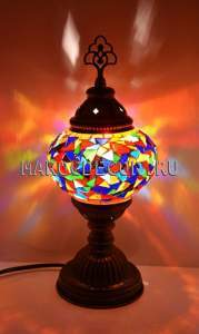 Настольная мозаичная лампа арт.ТМ-S012/1в