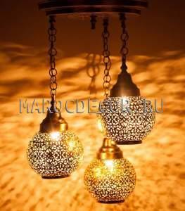 Люстра в марокканском стиле арт.Lant-78, ручная работа